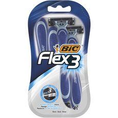 BIC Flex 3 Rasoirs jetables 4 rasoirs