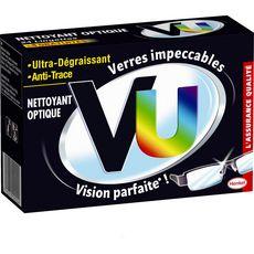 VU Lingettes nettoyantes optique ultra-dégraissantes & anti-traces 24 lingettes