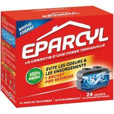 EPARCYL Sachets entretien canalisations activateur biologique 24 sachets