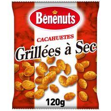 Bénénuts BENENUTS Cacahuètes grillées à sec dorées au four