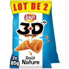 BENENUTS 3D's bugles nature lot de 2 2x85g