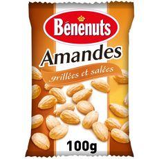 BENENUTS Amandes grillées et salées 100g