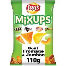 BENENUTS Mixups assortiment de biscuits salés goût fromage et jambon 110g