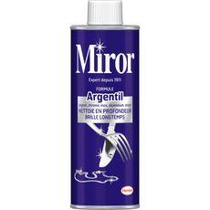MIROR Argentil nettoyant pour métaux blancs 250ml
