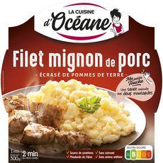 LA CUISINE D'OCEANE Filet mignon de porc et écrasé de pomme de terre 1 part 300g