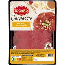 BIGARD Carpaccio parmesan 2 personnes 190g