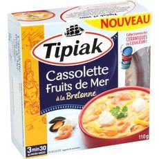 TIPIAK Cassolette fruits de mer à la bretonne 1 pièce 110g