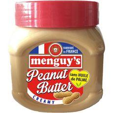 MENGUY'S Beurre de cacahuètes creamy sans huile de palme 454g