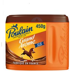 POULAIN Grand arôme chocolat en poudre 32% cacao 450g
