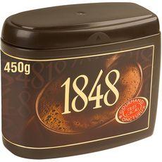 1848 Chocolat en poudre gourmand et onctueux 450g
