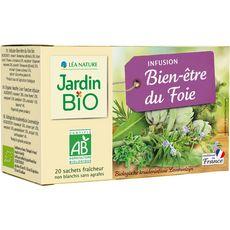 JARDIN BIO ETIC Infusion bien-être du foie 20 sachets 28g