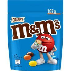 M&M'S Crispy bonbons chocolatés 187g