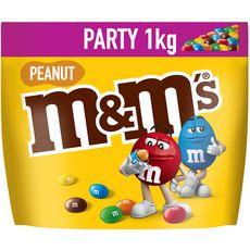 M&M'S Peanut bonbons chocolatés à la cacahuète 1kg