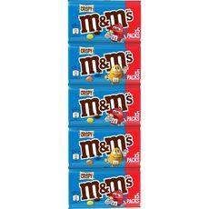 M&M'S Crispy bonbons chocolatés 5 pochons 5x36g