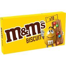 M&M'S Biscuits nappés de chocolat avec M&M's 10 biscuits 198g