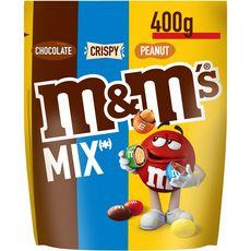M&M'S Mix bonbons chocolatés à la cacahuète 400g