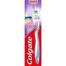 COLGATE Brosse à dents souple manche flexible 1 brosse