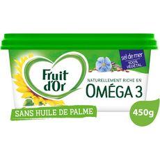 FRUIT D'OR Margarine oméga 3 demi-sel 450g
