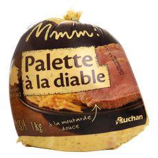 AUCHAN MMM! Palette à la diable à la moutarde douce fabriquée en Alsace 5 personnes 1kg
