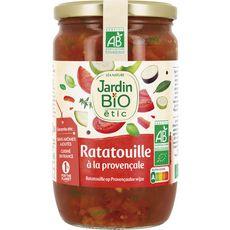 JARDIN BIO ETIC Ratatouille à la provençale, en bocal 650g