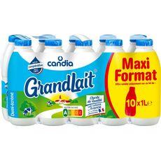 Candia Grandlait Lait demi-écrémé 10x1l