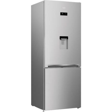 BEKO Réfrigérateur combiné RCNE560E40DSN, 497 L, NeoFrost