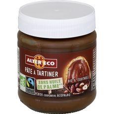 ALTER ECO Pâte à tartiner bio sans huile de palme 270g