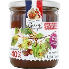 LUCIEN GEORGELIN Pâte à tartiner aux noisettes du Lot et Garonne sans huile de palme 400g