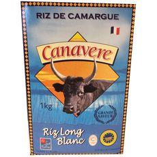 CANAVERE IGP Riz long blanc de Camargue 1kg