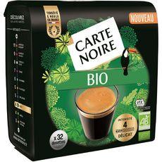 Carte Noire CARTE NOIRE Dosettes de café bio délicat compatibles Senseo