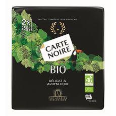 CARTE NOIRE Café moulu bio 2x250g