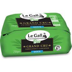 LE GALL Beurre de baratte doux non pasteurisé bio grand cru 250g