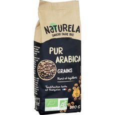 NATURELA Café en grains bio pur arabica 500g