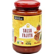 AUCHAN Sauce salsa fajita 430g