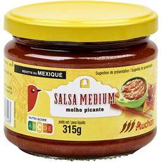AUCHAN Sauce salsa medium 315g