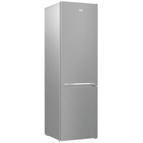 BEKO Réfrigérateur combiné RCSA406K40SN, 386 L, Froid statique