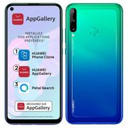HUAWEI Smartphone P40 lite E 64 Go 6.39 pouces Bleu 4G Double NanoSim