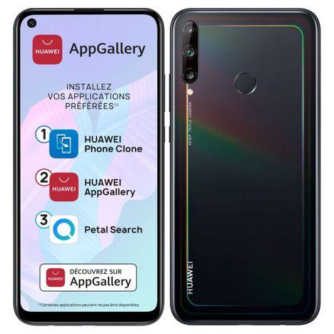 HUAWEI Smartphone P40 lite E 64 Go 6.39 pouces Noir 4G Double NanoSim