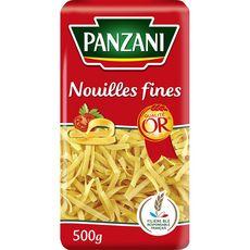PANZANI Nouilles fines qualité or filière blé responsable 500g