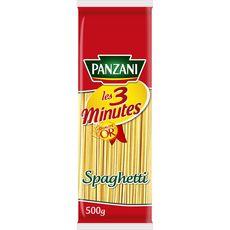 PANZANI Panzani Spaghetti cuisson rapide 3min 500g 500g