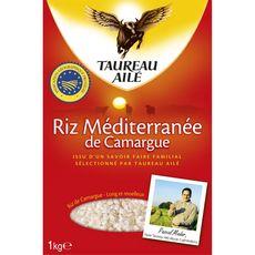 TAUREAU AILE Riz Méditerranée de Camargue IGP 1kg