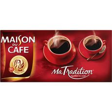 MAISON DU CAFE Café moulu ma tradition 4X250g