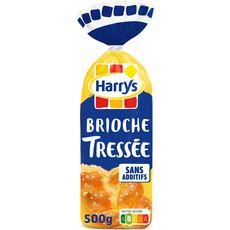 Harry's HARRYS Brioche tressée nature sans additifs au sucre perlé