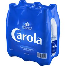 CAROLA Eau minérale naturelle plate bouteilles 6x50cl