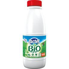 LACTEL Lactel lait entier bio U.H.T. bouteille 1l