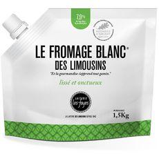 LAITERIE LES FAYES Laiterie les Fayes Fromage blanc des limousins 40% MG 1,5kg 1,5kg