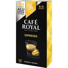 Café Royal Capsules de café espresso compatibles Nespresso X10-52g