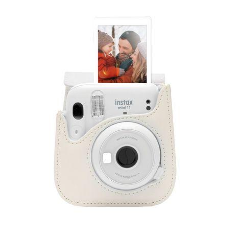 FUJIFILM Appareil photo instantané Instax Mini 11 Pack iconique - Blanc