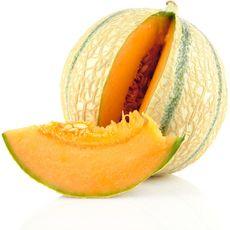 Melon charentais jaune sans résidu de pesticides pièce