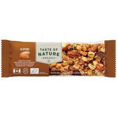 TASTE OF NATURE Barre aux noix et fruits bio 40g